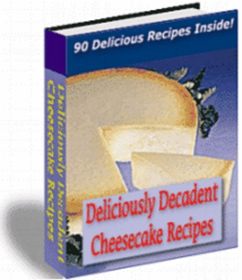 Product picture *New* Cheese Cake Recipes With Master Resale Rights.2011