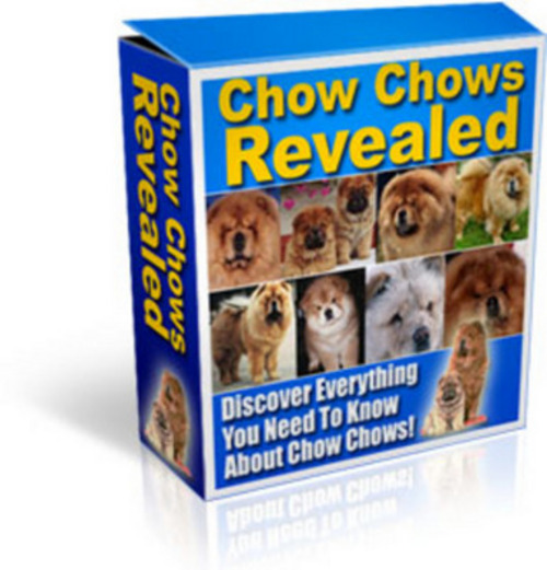 Product picture *New* Chows Chows Revealed With Master Resale Rights 2011