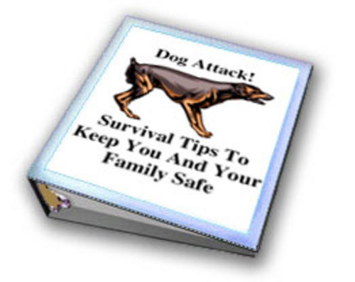 Product picture *New* Dog attack Tips To Keep You And Your Family Safe  2011