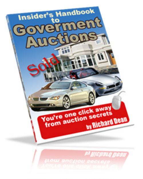 Product picture *New* Government Auction Handbook With MRR 2011