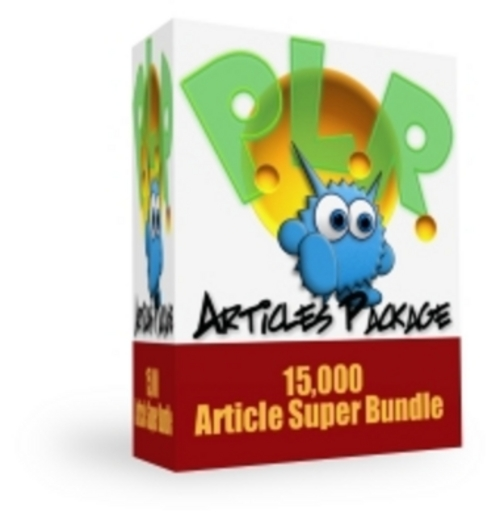 Product picture *New* Monster PLR Article Package 2011