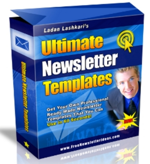 Product picture *New* Ultimate Newsletter Templates with MRR 2011