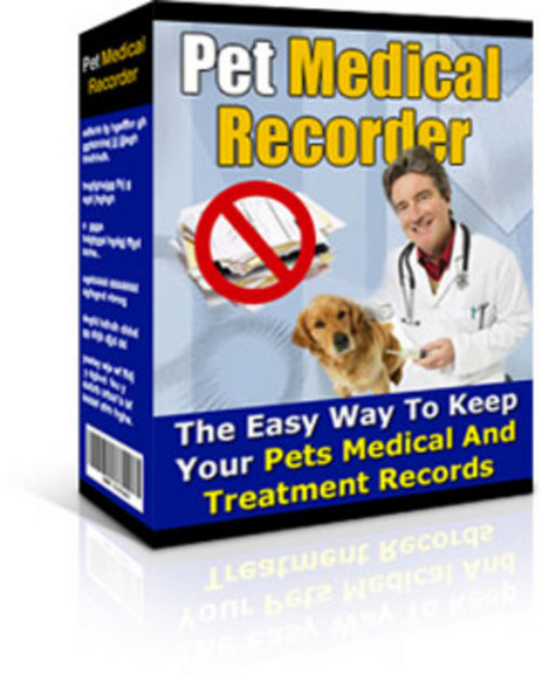 Product picture *New* Pet Medical Recorder With MRR 2011