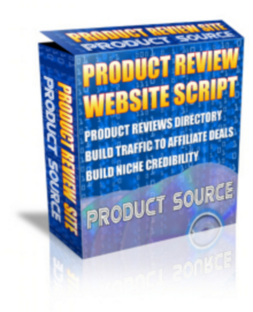 Product picture *New* Product Review Site with MRR 2011
