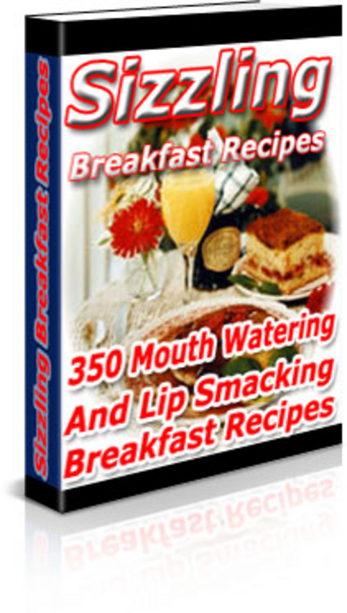 Product picture *New* Sizzling Breakfast Recipes 2011