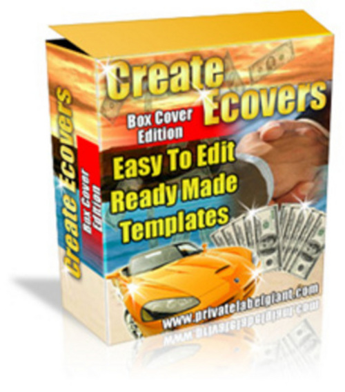 Product picture *New* Software Box Ecover Creator (MRR) 2011