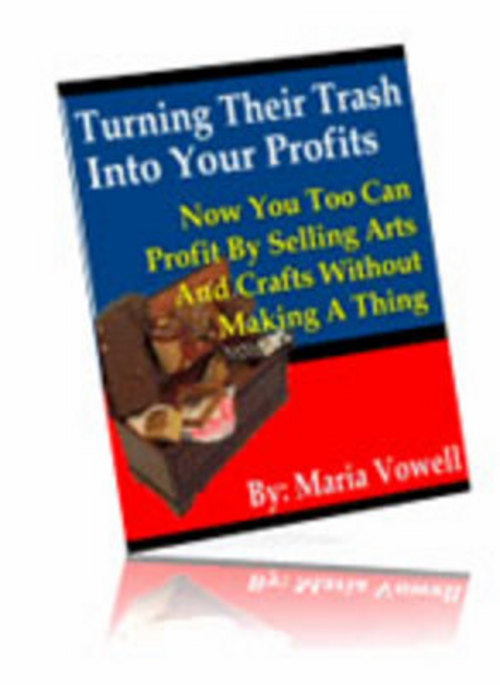 Product picture *New* Turning their trash into your profits 2011