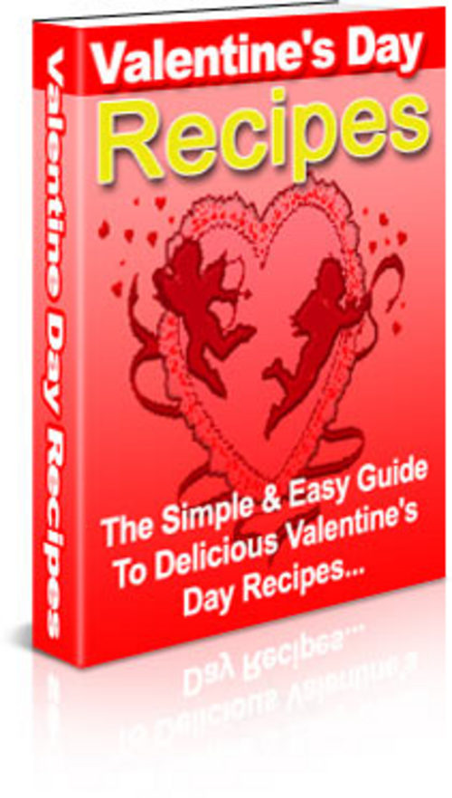 Product picture *New* valentine recipes 2011