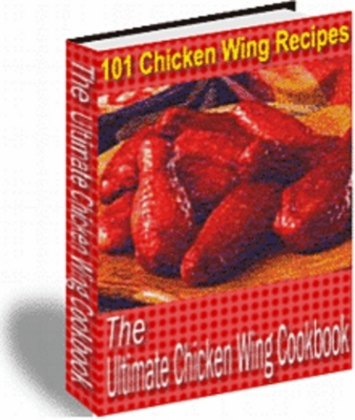 Product picture *New* The Ultimate Chicken Wing Cookbook 2011