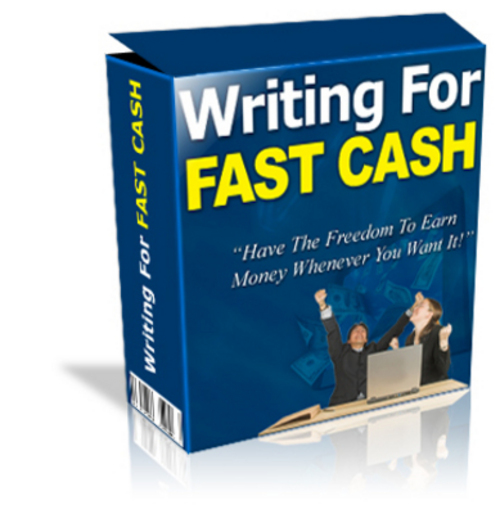 Product picture *New* Writing For Fast Cash 2011